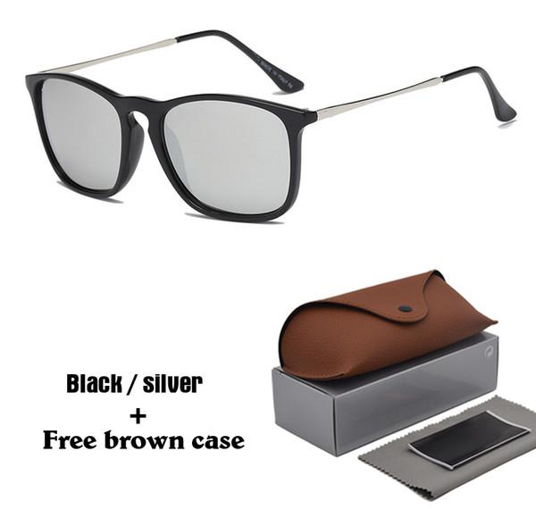 1 pcs atacado-top quality óculos de sol do vintage das mulheres dos homens designer de marca retro cat eye óculos de sol gafas oculos de sol com casos e caixa