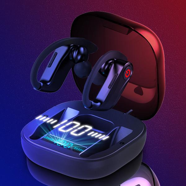 Q62 TWS Bluetooth 5.0 écouteur sans fil pour casque stéréo 3D sans fil Mini écouteurs en forme de casque étanche pour tous les téléphones