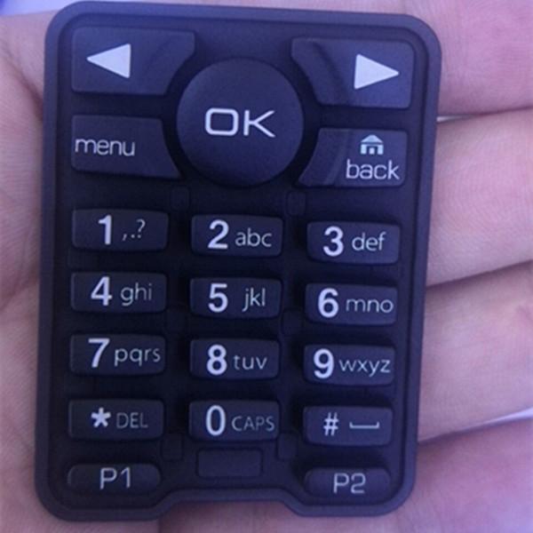 5X noir le clavier numérique en caoutchouc clavier numérique pour motorola XIR P8268 P8260 XPR6550 DGP6150 talkie-walkie