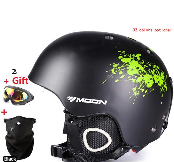 Skiing helmet autumn and winter adult male ladies monoboard skiing flanchard equipment Snow Sports saftly Helmets
