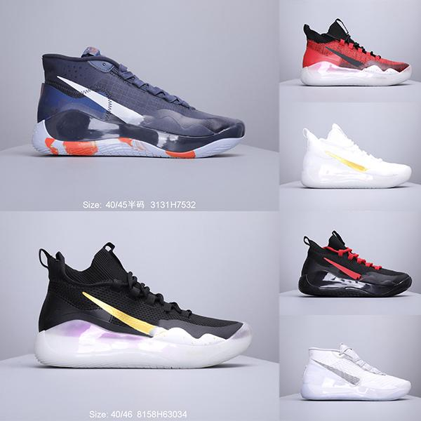 2019h Hot Mvp Kevins Durants XII KDs 12 EPs Anniversary University 12S XII Oreo Mens Basketball Shoes Elite KDs12 Sports Sneakers 40-46