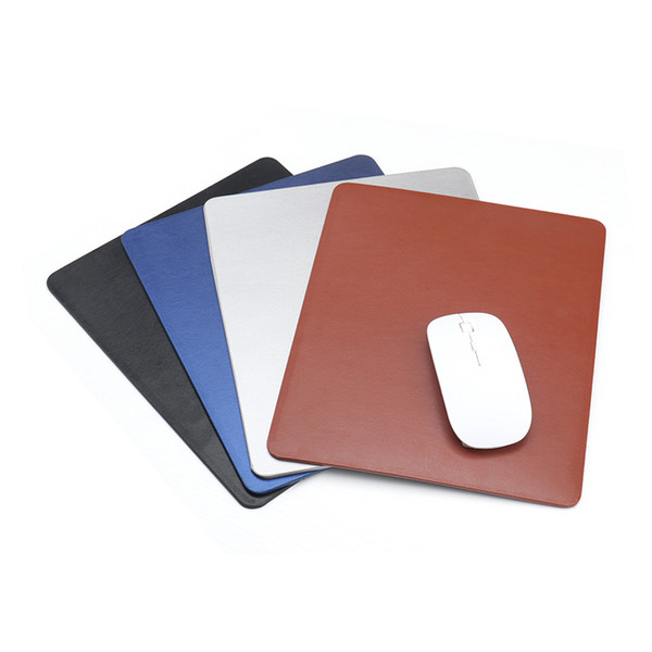 21 * 26cm 3mm Wasserdichte Leder Mauspad M Größe Computer Büro PC Loptop Notbook Leder Tischset Muismat 210x260 3mm