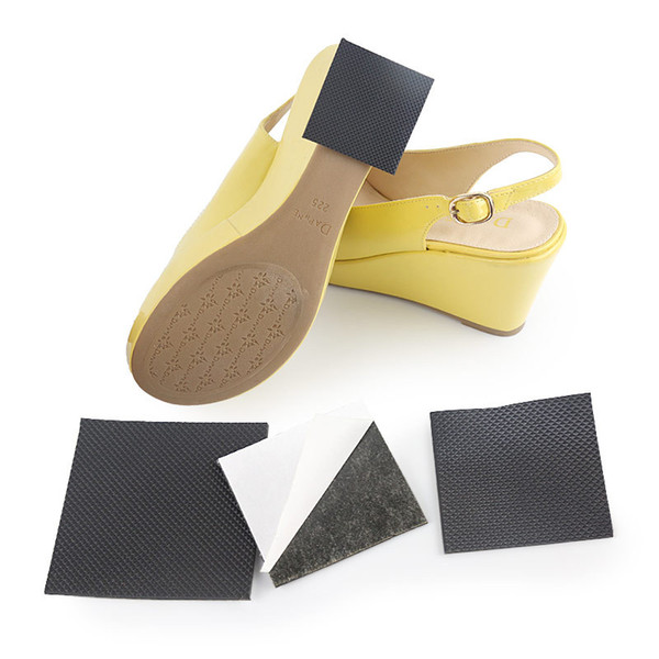 Anti-Slip Shoes Sole Protector Pad for Women High Heel Sandal Outsole Rubber Adhesive Ground Grip Shoe Bottom Sticker Pads