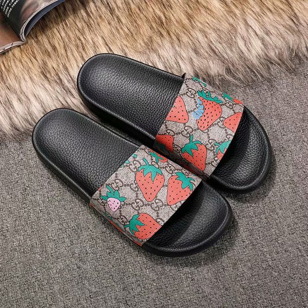 best selling Designer Shoes Slides Summer Beach Indoor Flat G Sandals Slippers House Flip Flops With Spike sandal with Box G1681