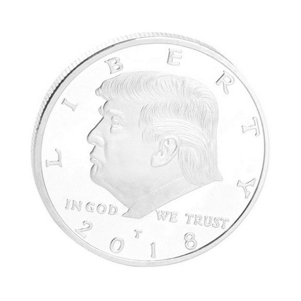 2019 2018 American 45th President Donald Trump Coin Gold Silver Metal Craft  Commemorative Coins Token For Collection Souvenir From Toptomhome, &Price