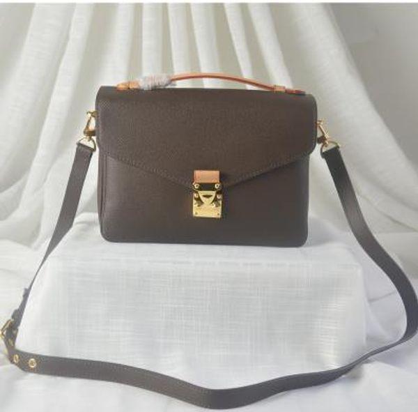 Borsa di cuoio della borsa del messaggero della borsa della borsa del progettista di Satchel del cuoio genuino genuino della borsa del messaggero di nuovo modo genuino