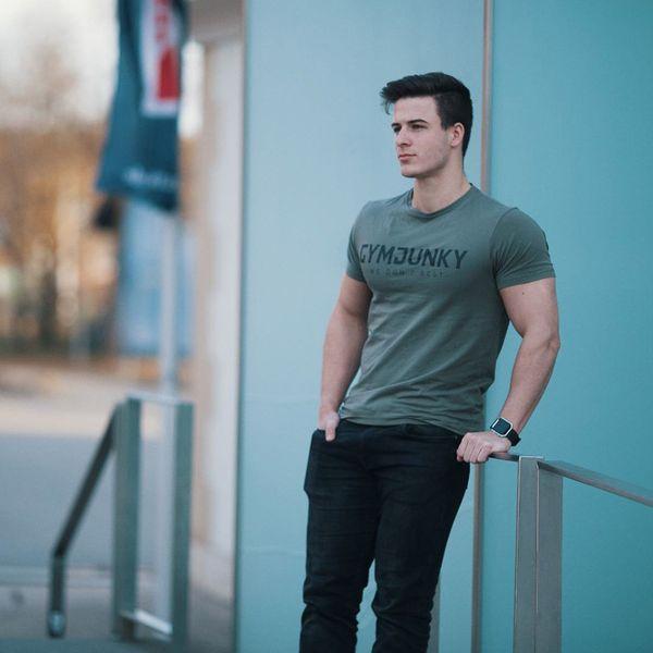 Algodão Camiseta de Manga Curta Sports Gym Workout Ciclismo Correndo T-Shirt Dos Homens de Fitness Ao Ar Livre Nova Moda Masculina Tendências Roupas Sportswear