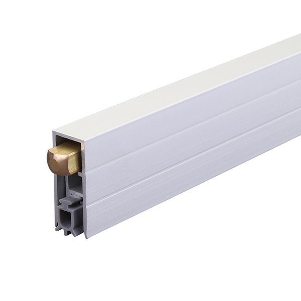 Concealed automatic Soundproof Threshold Door Draft Seal Acoustic Drop Down Seal TypeSealing Strips Materialaluminium copper and rubber is_customizedYes to seal gap3-15mm Length915mm (custom made)