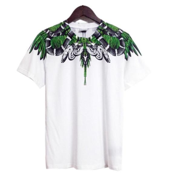 2019 New Fashion T-shirts Summer Men Women Italy Marcelo Burlon T-Shirt RODEO MAGAZINE MB Top Tees Fashion Marcelo Burlon T-Shirts Q856