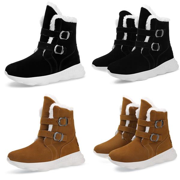 Bouton Mode En Noir De Bottes Sneakers Des Marron Entraîneurs Design Gris Homme Style1 Boot Doux Triple Hommes Acheter Brun Hommes Chaussures Peluche PiZXku