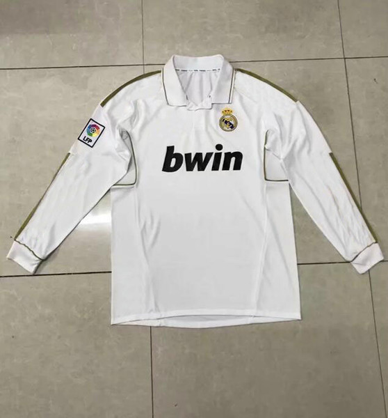 best service 22029 e0fbf 2019 New Top Short Sleeved 2006 Real Madrid White Retro Soccer Jersey 2012  Retro Long Sleeved Soccer Shirt From Psg_jersey, $18.28 | DHgate.Com