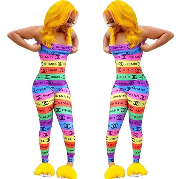 combinaison sans manches pour femmes designer combinaison bustier sexy barboteuse élégante mode combinaison skinny pull hors épaule clubwear klw1641