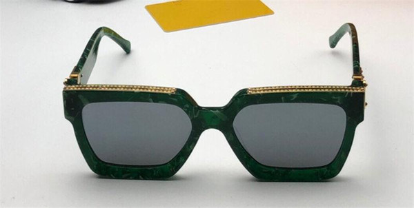grün silber Linsen