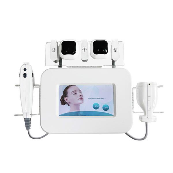 Fabrika Fiyat !!! 2 IN 1 HIFU Liposonix Yağ Kaldırma Kilo Kaybı10,000 Shots Liposonix Vücut Zayıflama Makinesi HIFU Yüz Kaldırma Kırışıklık Kaldırma
