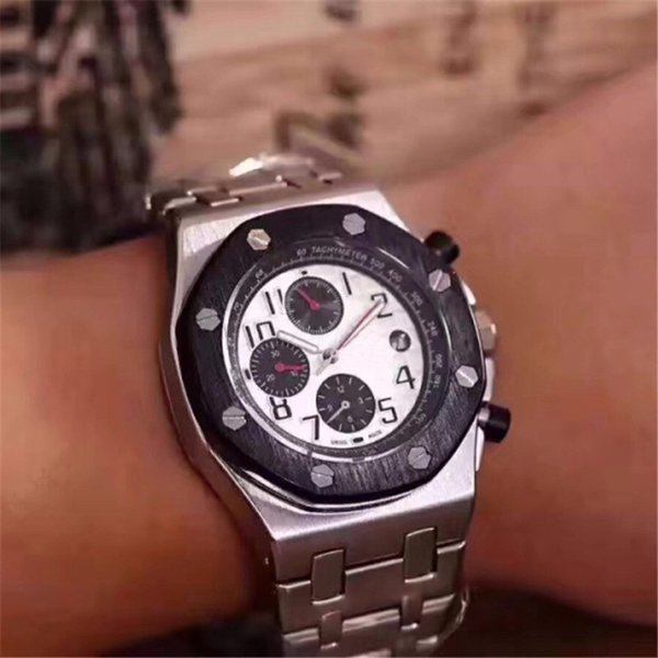 Automatic mechanical stainless steel business watch luxury designer brand mens watches gold seller service super 904l v9 watch men watches