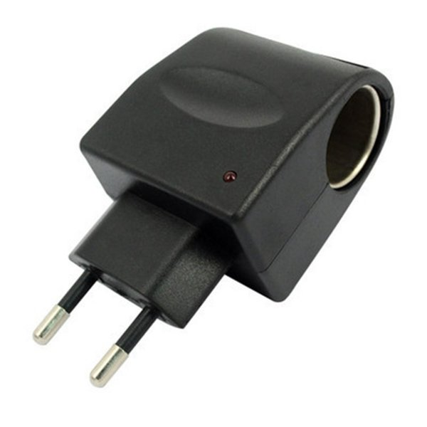1 of AC//DC Adapter 12v500mA w//Ciga.Lighter Socket For Car Phones//DC 12v Products