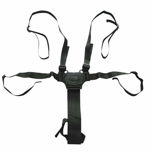 High Chair Buggy 5 Point Harness Stroller Universal Pushchair Seat Belt Child Adjustable Baby Safety Strap
