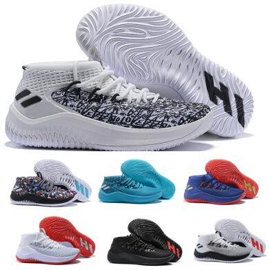 Mens Dame 4 Basketball Shoes Sneakers Man 2018 Top Grey Camp Static Rose City Lillard 4s IV Ultra Zapatillas Trainers Sports Shoes 7-12
