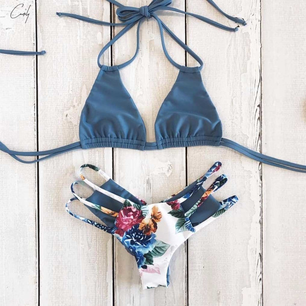 Sexy Bikini Women Push Up Beach Bandage Bikini Set Brazilian Summer Swimsuit Bathing Suits Female Biquini Print