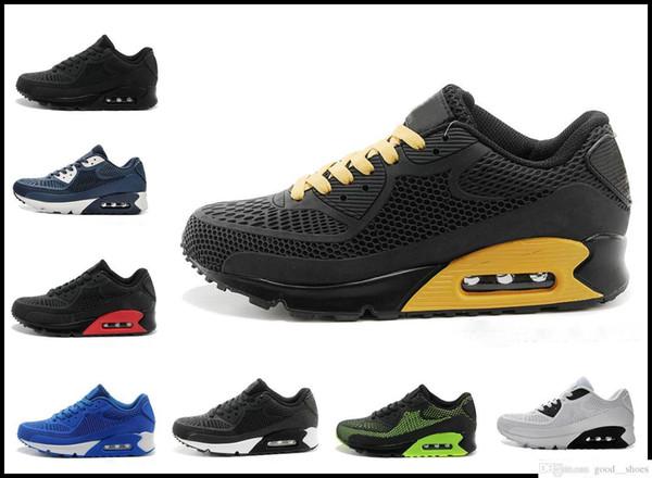 Zapatos corrientes de alta calidad Cushion 90 Kpu hombre para mujer Clásico 90 Zapatos casuales Zapatillas de deporte Zapatillas de deporte Hombre Caminando tenis deportivo