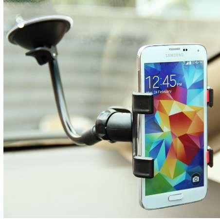 Universal Windshield Car Phone Stand Support Suction cup Stent Mount Window stick Smartphone cell Mobile Phone holder