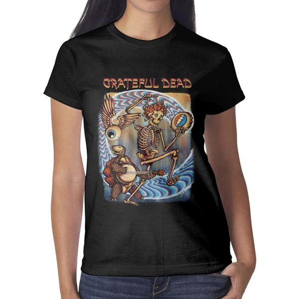 Grateful dead Zeb Love Here Comes Sunshine Poster Women T Shirt black Shirts Custom T Shirts Vintage Undershirt Superhero Blank Shirt Black