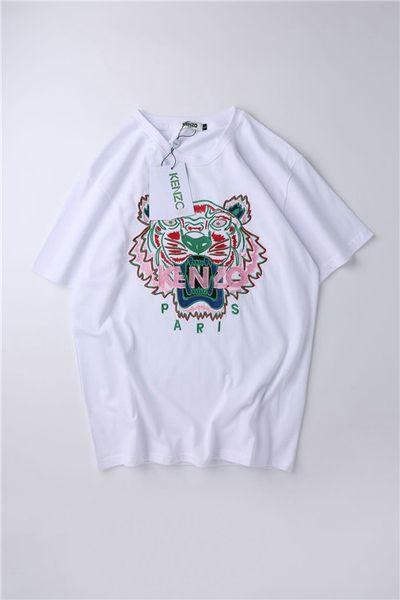 2019 verano nuevos hombres y mujeres camiseta cuello redondo imprimir manga corta camiseta envío gratis2360