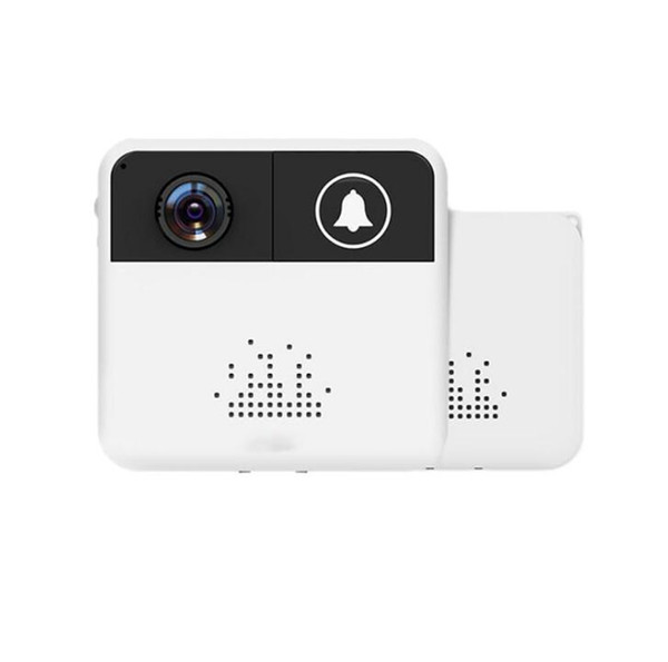 top popular 50pcs Wireless Doorbell HD 720P WiFi Video Camera Door Bell Ring Alarm Chime Phone Intercom Audio Free APP Control iOS Androi 2021