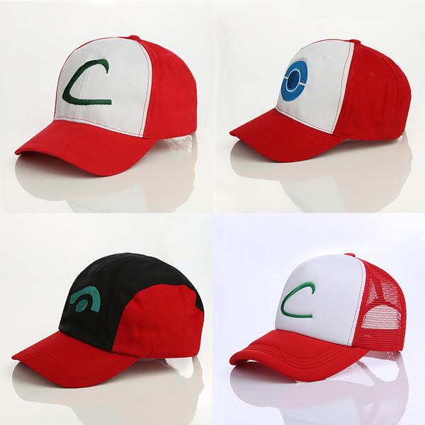 2019 moda tasarımcısı pikachu beyzbol kapaklar dağcılık şapka güneşlik casquette spor açık Ayarlanabilir Beyzbol şapkası