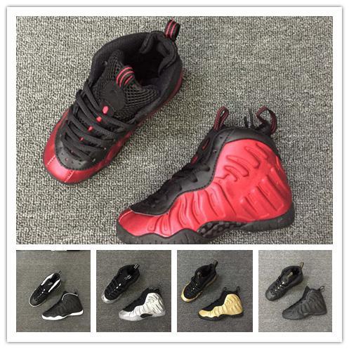Hot Sale Penny Hardaway 1 Children's Basketball Shoes Foams Foam One Kids Sports Sneakers for Top quality Men Women trainers Size 28-35