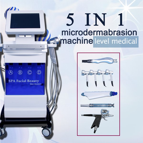 hydro dermabrasion skin care machine diamond microdermabrasion dermabrasion BIO skin lifting hydra facial Skin deep cleaning for with CE