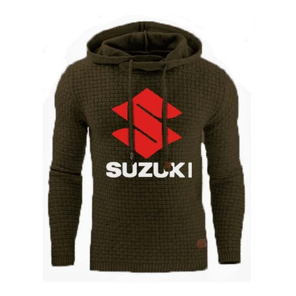 Sweats à capuche Homme pour voiture Logo Imprimer Sweat-shirt Printemps Automne hommes hoodies sport hip hop survêtement à capuche Casual E