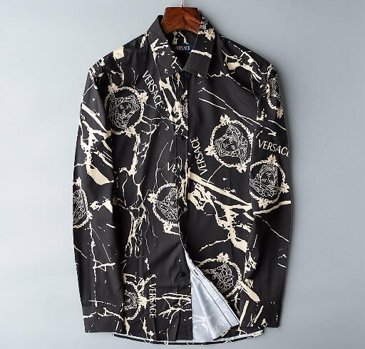 Newest Fashion Autumn Mens Shirt Candy Slim Fit Luxury Casual Stylish Dress Shirts Colours Plus Sizes M-3XL