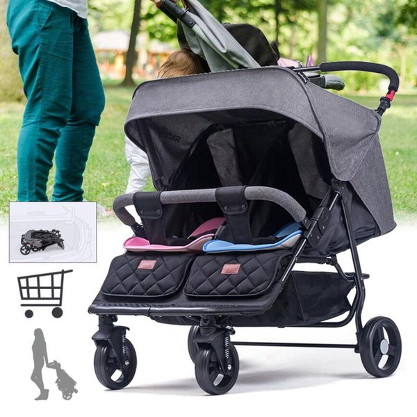 Prime 2019 2019 Luxury Gentleman Twin Baby Stroller Front And Rear Seat Double Baby Stroller Lightweight Folding Reclining Multi Function From Callshe Machost Co Dining Chair Design Ideas Machostcouk