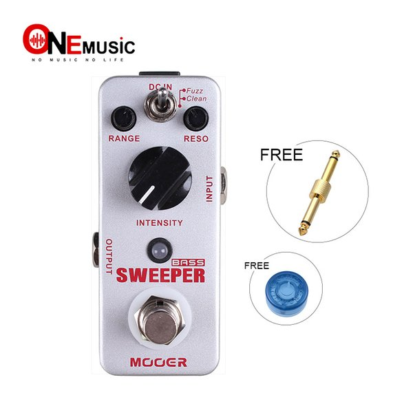 Mooer Sweeper Bass Filter Pedal Dynamic envelope filter pedal for both bass and guitar Full metal shell True bypass Free shipping MU0347