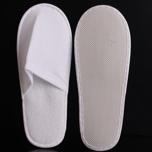 Hotel descartável Toalheiros Chinelos Com EVA Sola Dedo Do Pé Fechado Sapatos de Convidado do curso homens mulheres Hotel Descartáveis sapatos WWA181