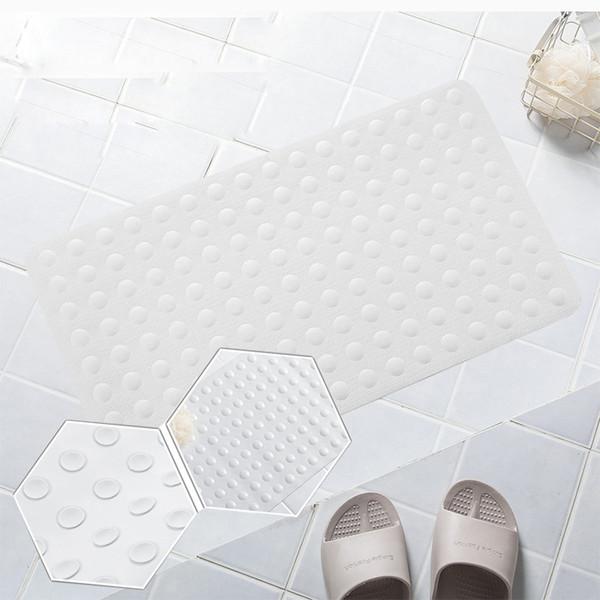 40x70cm en caoutchouc tapis de bain antidérapant tapis de bain doux de massage avec ventouse douche de sécurité baignoire tapis tapis de bain antidérapant C4