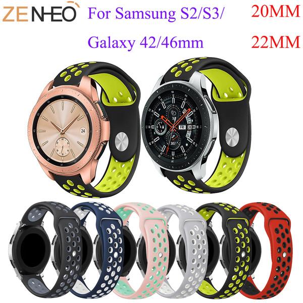 Снасти S3 Frontier / Classic диапазона вахты 22мм спорта силикона Замена Часы Мужчины женщин браслет часы ремешок для Samsung Gear S3