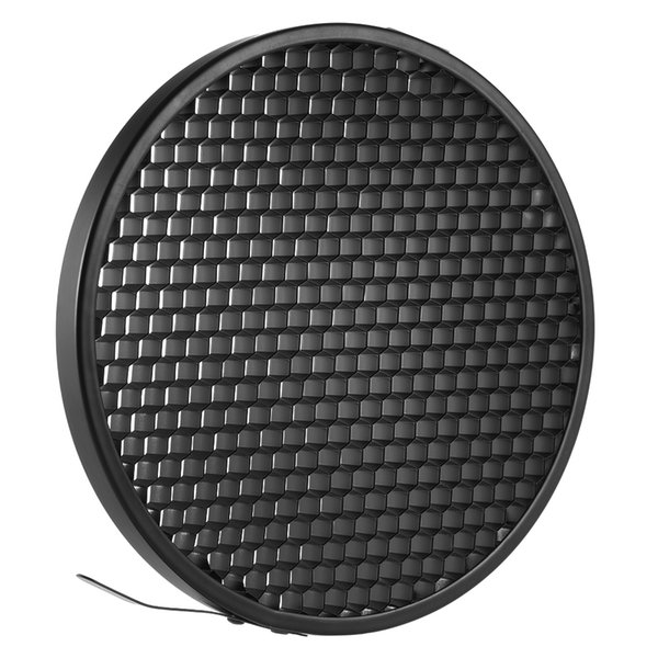 "photo studio 16.8cm 60 Degree Aluminum Photo Studio Honeycomb Grid for 7"" Standard Reflector Diffuser Lamp Shade Dish"
