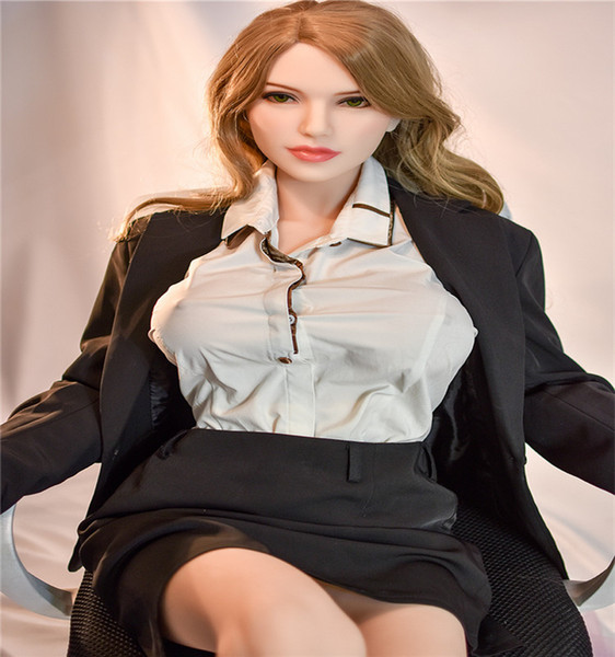 Factory hot sell 165 cm big breast silicon sex dolls 2019 new design adult sex doll for men 17th head
