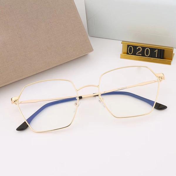 neue mode frauen marke designer optische gläser 0201 cat eye rahmen hd objektiv modenschau design sommer stil mit kasten
