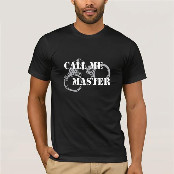 Camisa de sujeción BDSM para la camiseta de vestir Master.
