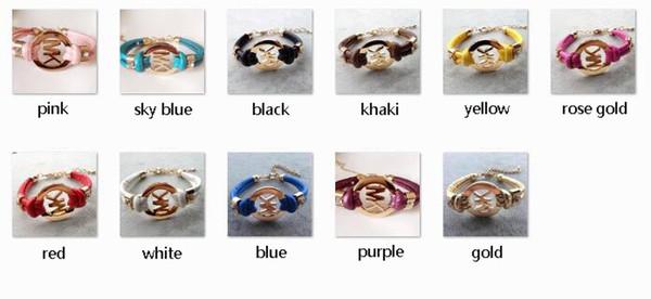 M-K Bracelet mixed colors