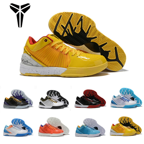 New 2019 Zoom Kobe Iv 4 4s Protro Draft Day Hornets Carpe Diem Del Sol Sports Basketball Shoes For Mens Trainers Sneakers 40-46