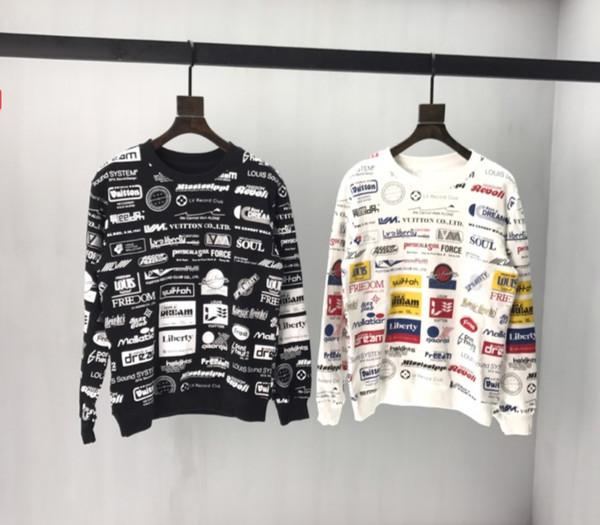 2020 nuovo delle donne degli uomini Sweatershirts lettera stampata casuale pullover superiore tuta sportiva della molla autunno Maglioni intero Colth Stampa QS B104522V
