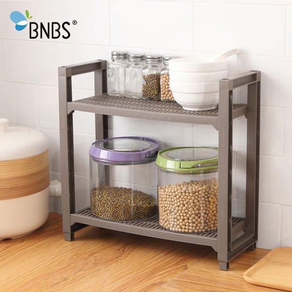 wholesale Kitchen Supplies Spice Sundries Cupboard Storage Rack Shelf Bathroom Tools Organizer Holder Adjustable Layer