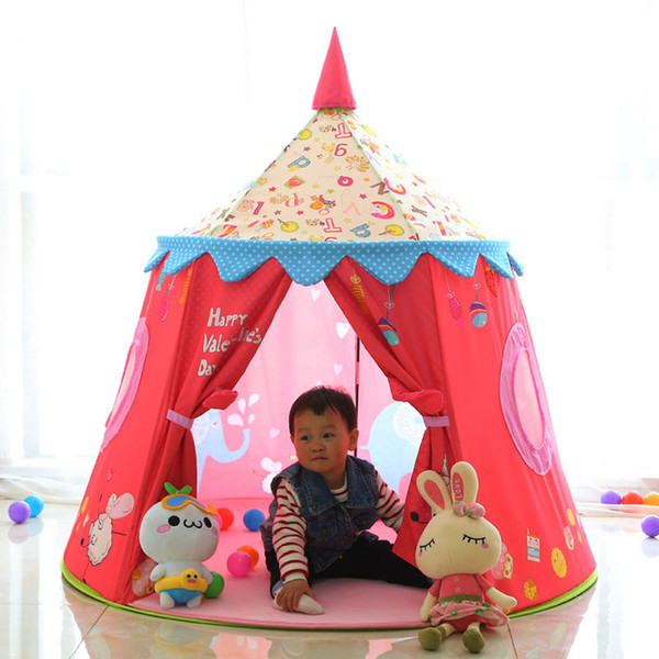 Children S Tent Toy Game Fence Ball Pool Portable Princess Girl S