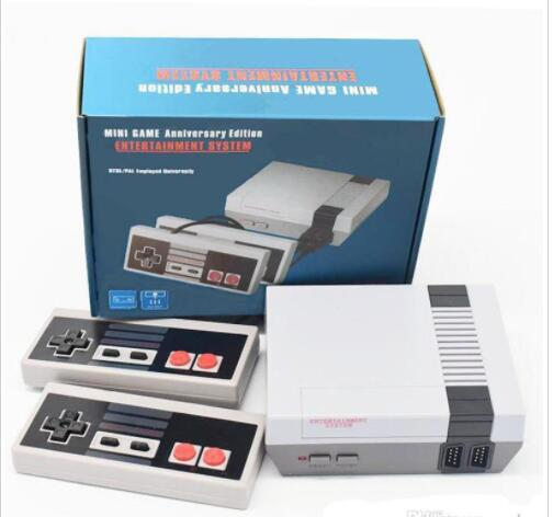 top popular New Arrival Nes Mini TV Can Store 620 500 Game Console Video Handheld For NES Games Consoles Wth Retail Box Packaging 2020