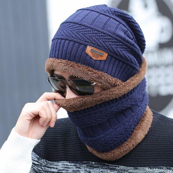 navy blue (hat + Wei Bo)