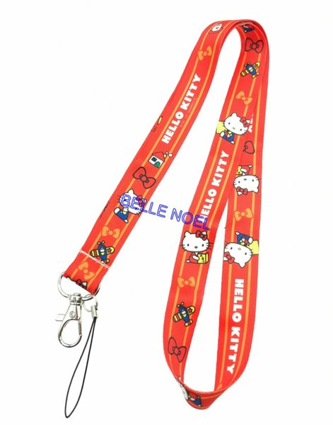 10pcs popular cartoon vaquinha pescoço correias colhedores telefone móvel, cartão de identificação, chave